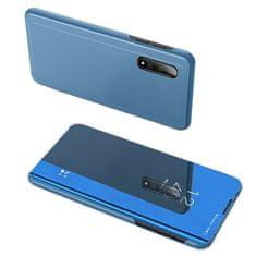 MG Clear View knížkové pouzdro pro Xiaomi Redmi Note 8 Pro, modré