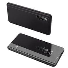 MG Clear View knižkové pouzdro na Samsung Galaxy A51, černé