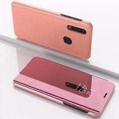 MG Clear View knížkové pouzdro na Samsung Galaxy A50 / A50s / A30s, růžové