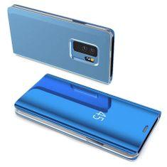 MG Clear View knižkové púzdro pre Samsung Galaxy A40, modré