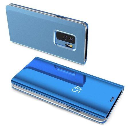MG Clear View könyv tok Samsung Galaxy A40, kék