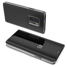 MG Clear View knižkové púzdro pre Huawei P30 Pro, čierne