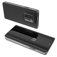 MG Clear View knížkové pouzdro pro Samsung Galaxy S10e, černé