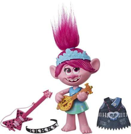 HASBRO Trollok éneklő Pipacs figura rockfelszereléssel