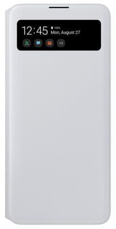 SAMSUNG EF-EA715PW S View Wallet Galaxy A71, fehér