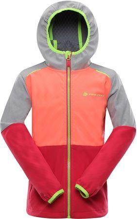 ALPINE PRO lány softshell kabát NOOTKO 10140- 146, színes