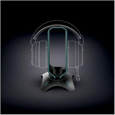 Reproduktory Yenkee YHB 3003 Tower (YHB 3003) zvuk basy subwoofer Led RGB podsvícení