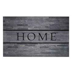 FLOMA Venkovní vstupní čistící rohož Residence, Home Stones - délka 45 cm, šířka 75 cm a výška 0,9 cm
