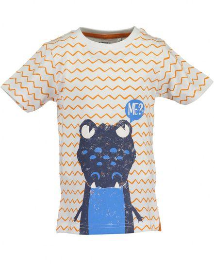 Blue Seven chlapčenské tričko, 92, biela