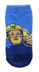 SETINO Chlapčenské členkové ponožky Hasič Sam - modrá