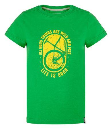 Loap BAAKIS otroška majica, 112/116, zelena