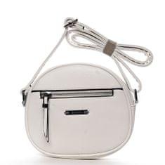 Romina & Co. Bags Módní dámská kulatá crossbody Fulbert bílá
