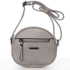 Romina & Co. Bags Módní dámská kulatá crossbody Fulbert šedá