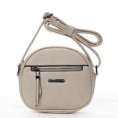 Romina & Co. Bags Módní dámská kulatá crossbody Fulbert béžová