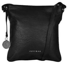 JustBag Ženska torbica crossbody 3764 Black