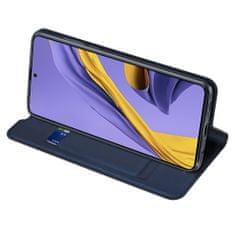 Dux Ducis Skin Pro knížkové kožené pouzdro pro Samsung Galaxy A71, modré