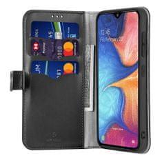 Dux Ducis Kado knižkové kožené púzdro pre Samsung Galaxy A40, čierne