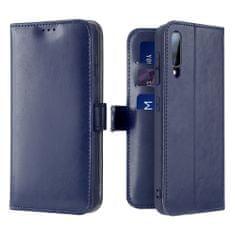 Dux Ducis Kado knížkové kožené pouzdro na Samsung Galaxy A70, modré