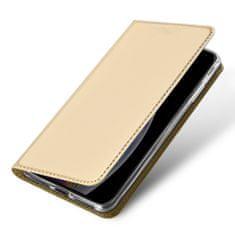 Dux Ducis Skin Pro usnjeni flip ovitek za iPhone 11, zlato