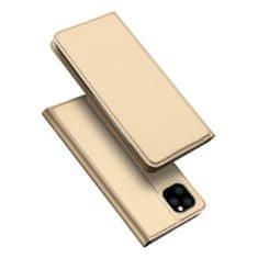 Dux Ducis Skin Pro bőr könyvtok iPhone 11 Pro Max, arany