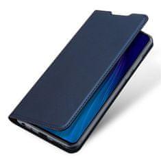 Dux Ducis Skin Pro knížkové kožené pouzdro pro Xiaomi Redmi Note 8T, modré