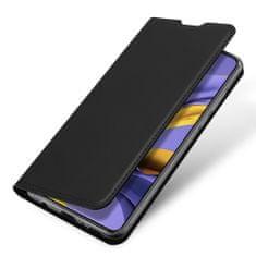 Dux Ducis Skin Pro knižkové kožené púzdro pre Samsung Galaxy A71, čierny