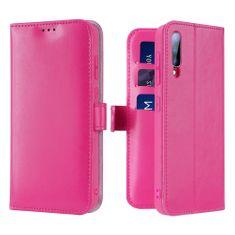 Dux Ducis Kado knižkové kožené púzdro na Samsung Galaxy A70, ružové