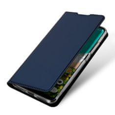 Dux Ducis Skin Pro knížkové kožené pouzdro pro Xiaomi Mi A3, modré