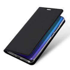 Dux Ducis Skin Pro knížkové kožené pouzdro pro Huawei P30 Pro, černé