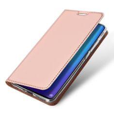 Dux Ducis Skin Pro bőr könyvtok Huawei P30 Pro, rózsaszín