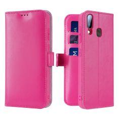 Dux Ducis Kado knižkové kožené púzdro pre Samsung Galaxy A40, ružové