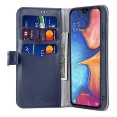 Dux Ducis Kado knížkové kožené pouzdro pro Samsung Galaxy A20e, modré