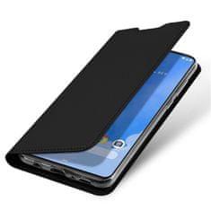 Dux Ducis Skin Pro knížkové kožené pouzdro pro Samsung Galaxy A70, černé