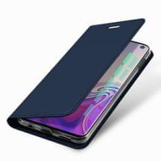 Dux Ducis Skin Pro knížkové kožené pouzdro pro Samsung Galaxy S10e, modré