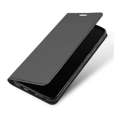 Dux Ducis Skin Pro bőr könyvtok Samsung Galaxy S9, szürke