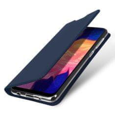 Dux Ducis Skin Pro knížkové kožené pouzdro pro Samsung Galaxy A10, modré
