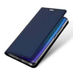 Dux Ducis Skin Pro knížkové kožené pouzdro pro Huawei P30 Pro, modré