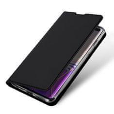 Dux Ducis Skin Pro knížkové kožené pouzdro pro Samsung Galaxy S10 Plus, černé
