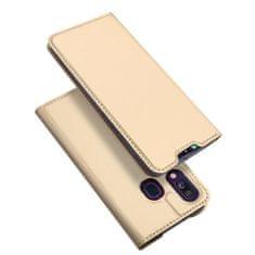 Dux Ducis Skin Pro knížkové pouzdro pro Samsung Galaxy A40, zlaté