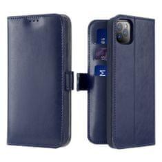 Dux Ducis Kado knižkové kožené púzdro pre iPhone 11 Pro, modré
