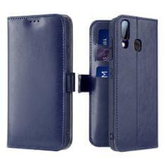 Dux Ducis Kado knížkové kožené pouzdro na Samsung Galaxy A40, modré