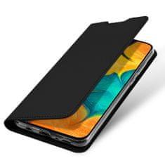 Dux Ducis Skin Pro knižkové kožené púzdro na Samsung Galaxy A20e, čierne