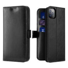 Dux Ducis Kado bőr könyvtok iPhone 11 Pro, fekete