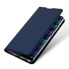 Dux Ducis Skin Pro knížkové kožené pouzdro na Huawei P Smart 2019, modré