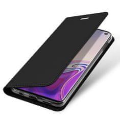 Dux Ducis Skin Pro knížkové kožené pouzdro pro Samsung Galaxy S10e, černé