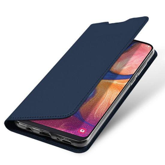 Dux Ducis Skin Pro knižkové púzdro pre Samsung Galaxy A40, modré