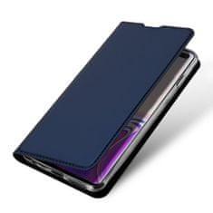 Dux Ducis Skin Pro knížkové kožené pouzdro pro Samsung Galaxy S10 Plus, modré
