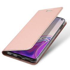 Dux Ducis Skin Pro knížkové kožené pouzdro pro Samsung Galaxy S10e, růžové