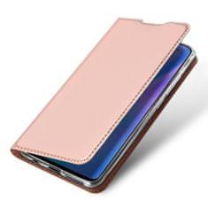 Dux Ducis Skin Pro knížkové kožené pouzdro pro Huawei P30 Lite, růžové