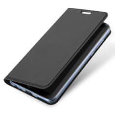 Dux Ducis Skin Pro knížkové kožené pouzdro pro Huawei P20 Lite, sivé